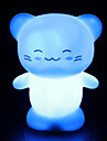 Happy Cat Style Night Light (Random Color)
