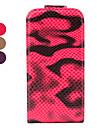 la peau de serpent modèle bascule étui en cuir PU pour iPhone 4 et 4s (couleurs assorties)