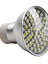 e14 gu10 led spotlight mr16 60 smd 3528 180lm натуральный белый 2800k ac 220-240v