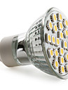 4W GU10 LED Spotlight MR16 24 SMD 5050 150 lm Warm White AC 220-240 V
