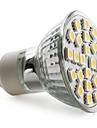 4W GU10 Lâmpadas de Foco de LED MR16 24 SMD 5050 150 lm Branco Quente AC 220-240 V