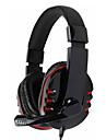 kanen km-790 casque 3,5 mm sur l'oreille stéréo avec microphone pour pc (couleurs assorties)