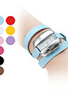 Women's Long PU Leather Style Band Analog Quartz Bracelet Watch (Assorted Colors)