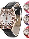 ocasional das mulheres estilo liga analógico relógio de pulso de quartzo (cores sortidas)