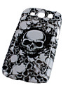 Horrible Skull Heads Pattern for Samsung Galaxy S3 I9300 (Multi-Color)