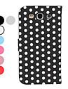 용 삼성 갤럭시 케이스 스탠드 / 플립 / 패턴 케이스 풀 바디 케이스 기하학 패턴 인조 가죽 Samsung S3