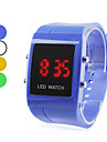 Men's Plastic Digital LED Wrist Watch (Assorted Colors) Cool Watch Unique Watch