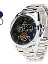 Men's Steel Analog Automatic Mechanical Wrist Watch (Assorted Colors)