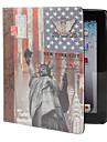 """Чехол из искусственной кожи с функцией стенда """"Статуя свободы"""" для iPad 2/3/4"""