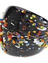 Colorful Esaü perle Anneau glaçure colorée
