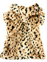 Casacos - Inverno - Marrom - Leopardo - de Terylene - para Cães - XS / M / XL / S / L