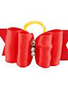 Chat / Chien Accessoires pour Cheveux Vêtements pour Chien Rouge / Rose Térylène Costume Pour les animaux domestiques