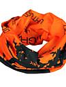 Шарф для велосипедистов ветрозащитный из 100% полиэстера (оранжевая расцветка)