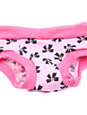 Dog Pants Dog Clothes Bowknot Pink Costume For Pets
