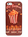 Popcorn Pattern Hard Case for iPhone 5/5S