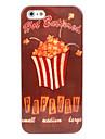 popcorn cas dur de modèle pour l'iphone 5/5s