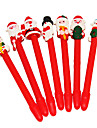милый Санта-Клауса снеговик мягкой форме шариковой ручки (случайным образом)