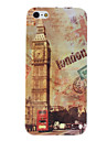 Retro Style Big Ben Pattern Hard Case for iPhone 5/5S