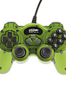 Classic Double Shock 2 USB Wired Controller for PC (Green)