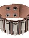 Муж. Браслеты с подвесками Кожаные браслеты Кожа Сплав Бижутерия Назначение Спорт