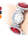 Women's Plastic Analog Quartz Bracelet Watch (Assorted Colors)