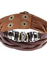 Муж. Браслеты с подвесками Кожаные браслеты Кожа Сплав Бижутерия Спорт