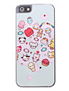 Cartoon Animals Pattern Hard Case for iPhone 5/5S