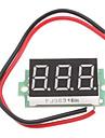 """0.36"""" Display 3-Digit 3~30V Voltage Tester for 18650 Battery"""