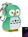 Keychain Jewelry Silicon Rubber Resin Owl LED Luminous Illuminated Animal Lovely Daily Wear Women\'s Men\'s