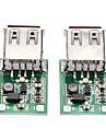 2PCS DC-DC Step-Up Module (0,9 V ~ 5V)-5V 600MA Pour USB (Chargeur portable)