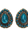 Z&X®  Retro Ancient Gem Drop Earring