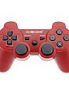 GOiGAME Проводной контроллер Двухместный Цвет для PS3 (черный + красный)