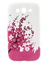 Cas dur de modèle de fleur de prune pour Samsung Galaxy I9082 grand DUOS