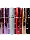 12ml Портативный Плам Блоссом Pattern алюминиевый корпус спрей флакон духов для путешествия (случайный цвет)