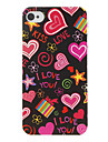 Love Pattern Hard Case For iPhone 7 7 Plus 6s 6 Plus SE 5s 5c 5 4s 4