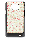Flower Pattern Hard Case for Samsung Galaxy S2 I9100