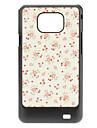 Цветочный узор Жесткий чехол для Samsung Galaxy S2 I9100