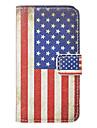 Vintage флаг США узор Полный Дело орган для iPhone 4/4S