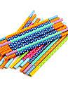 lindo lápiz de madera de colores (5 unidades de color al azar)