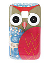 Owl and Deer Pattern Hard Case for Samsung Galaxy Ace Duos S6802