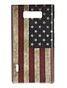 Rétro cas de style américain de drapeau dur de modèle pour LG Optimus L7 P705