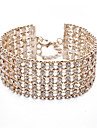 Crystal - Cuff Bracelet Gold / Silver For Daily / Casual / Outdoor