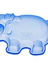 свинья форме силиконовые формы торт (случайный цвет)