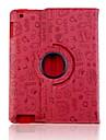 Adorable modèle étui en cuir PU pour iPad 2/3/4 Faerie