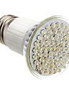 E26/E27 Spot LED PAR38 60 LED Dip 400 lm Blanc Chaud 3500K K AC 85-265 V