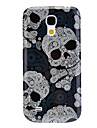 Hard Case Durable de motif de crâne pour Samsung Galaxy S4 Mini I9190