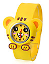 Children's Tiger Style Bendable Plastic Band Slap Wrist Watch Cool Watches Unique Watches