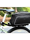 ROSWHEEL Polyester&PU Material Texture Series Cycling Backseat Bag
