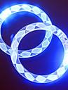 조정 가능한 LED 팔찌 투명 컬러 풀 콘서트 파티 소품을 점멸 (임의의 패턴)