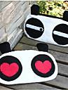 Cute Panda en forma de bolso de la pluma Textil (modelo aleatorio)